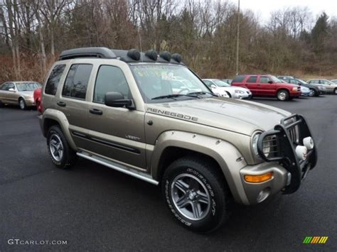 liberty jeep 2004 light khaki metallic 2004 jeep liberty renegade 4x4