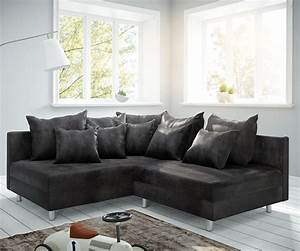 Ecksofa Links : ecksofa clovis anthrazit antik optik ottomane links ~ Pilothousefishingboats.com Haus und Dekorationen