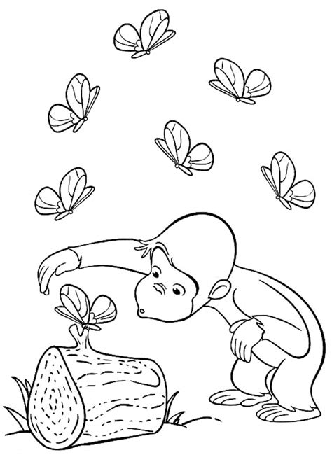 Best Coloring Pages For Curious George Coloring Pages Best Coloring Pages For