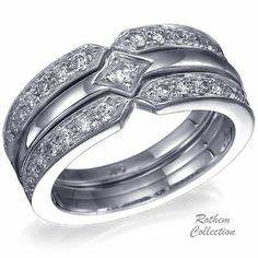 wedding rings pictures engagement wedding ring combo With wedding ring combo
