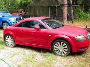 2001 Audi Tt Quattro Base Coupe 2