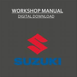 Suzuki Workshop Service Manual    Pdf Grand Vitara Swift Jimny Wagon R 1999