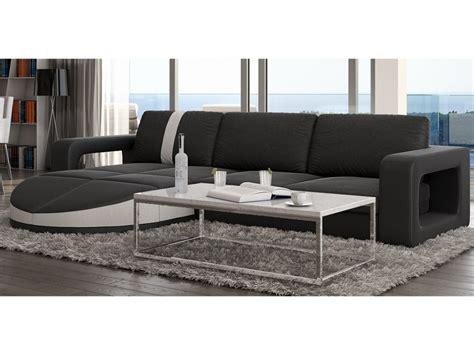 canapé modulable design canapé d 39 angle réversible en simili talita 3 coloris
