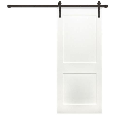 Depot 2 Panel Interior Doors by Pacific Entries 36 In X 84 In Shaker 2 Panel Primed Wood