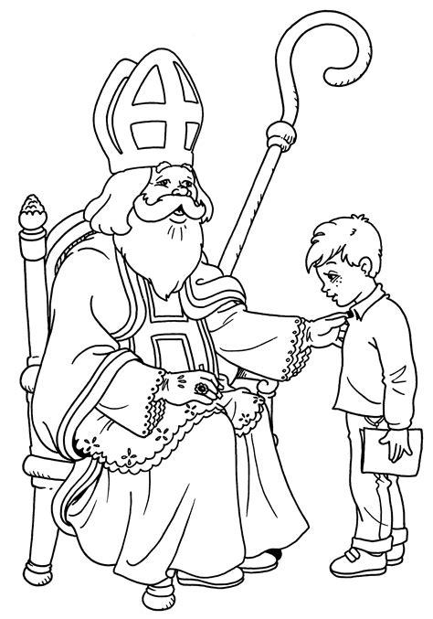 Malvorlage Sankt Nikolaus Malvorlagen 55