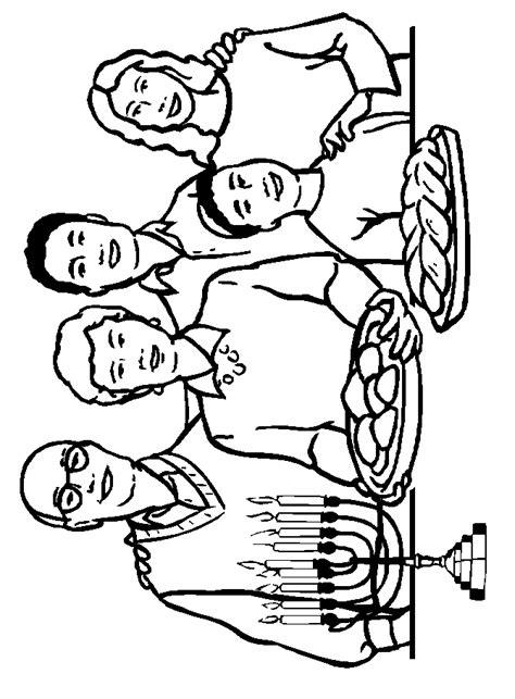 jewish holidays hanukkah coloring page coloring pages