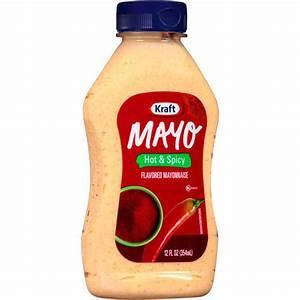 Kraft Mayo Sandwich Shop Hot & Spicy Mayonnaise, 12 oz ...