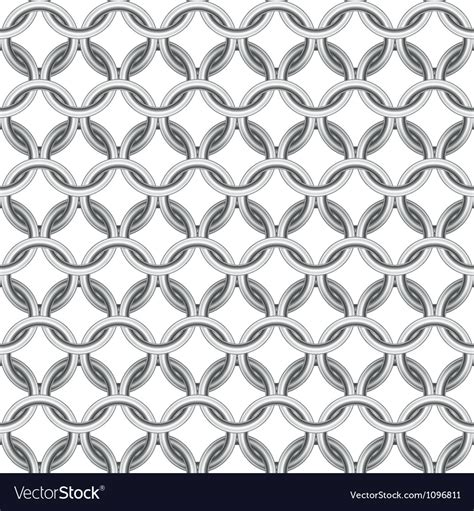 email template pattern chainmail seamless royalty free vector image vectorstock