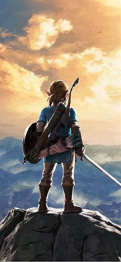 Iphone Nintendo Zelda Legend Wallpapers Breath Wild