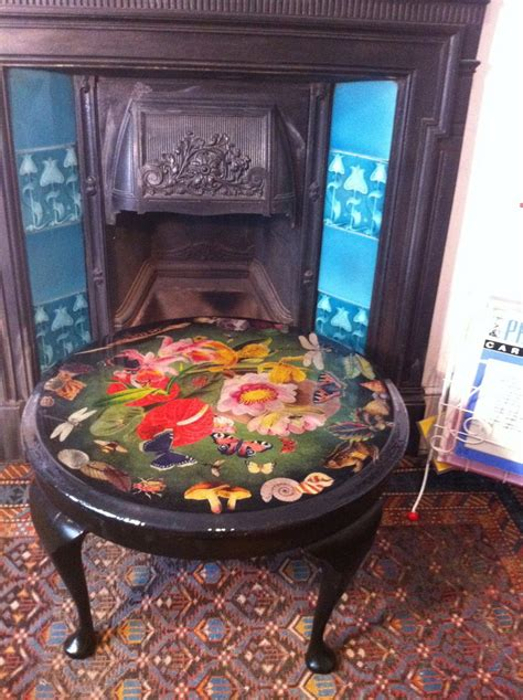 decoupage coffee table by vigurs on deviantart