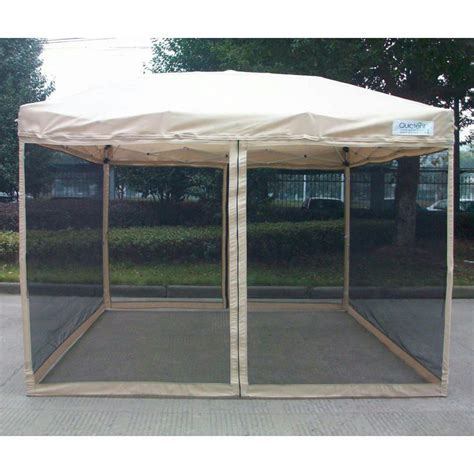 ez up gazebo quictent 10x10 ez pop up gazebo tent canopy mesh