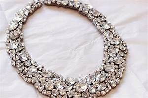 Statement wedding jewelry bridal necklace etsy handmade 13 for Wedding ring necklace