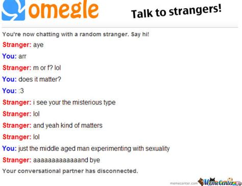 Omegle Meme - omegle by redtail meme center