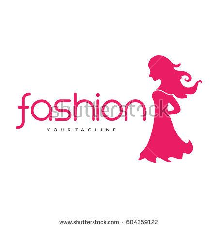 women fashion logo stock vector  shutterstock
