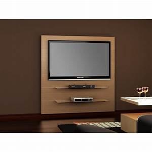 Meuble Cache Tv : meuble tv hubertus panorama 2 ch ne audiovisuel solution ~ Premium-room.com Idées de Décoration