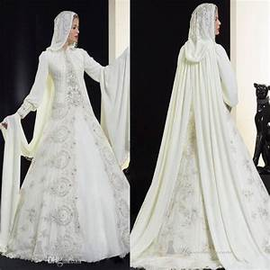 Discount 2015 Saudi Arabia Muslim Long Sleeve Wedding ...