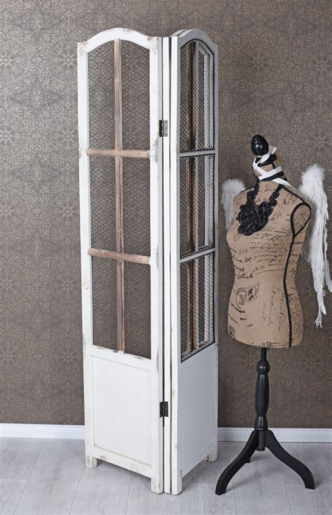 Sichtschutz Garten Shabby Chic by Trennwand Paravent Holz Shabby Chic Sichtschutz Raumteiler
