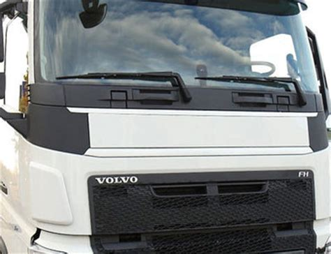 truckjunkie front plate panel volvo fh