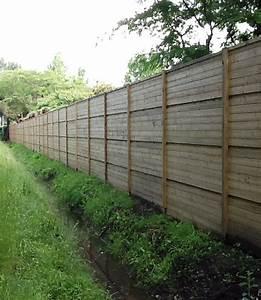 Palissade Anti Bruit : panneau bois anti bruit simple panneau isolant acoustique ~ Premium-room.com Idées de Décoration