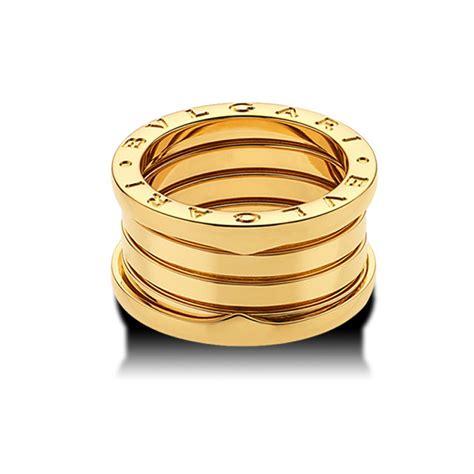 bulgari bzero1 bulgari jewelry b zero1 18k yellow gold 4 band ring an191025