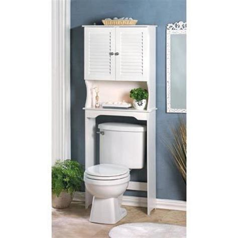 white shutter toilet towel shabby bathroom bath organizer cabinet shelf ebay