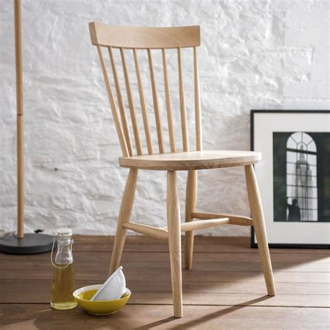 oak spindle  dining chair