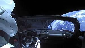 Voiture Tesla Dans L Espace : une tesla dans l espace ~ Medecine-chirurgie-esthetiques.com Avis de Voitures
