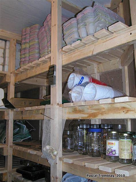 calcul chambre froide gratuit chambre froide au sous sol plan rangement pour les conserves