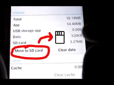 how to move apps pictures to sd card on android