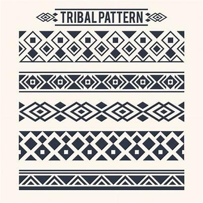Tribal Vector Pattern Patterns Ethnic Separators Designs