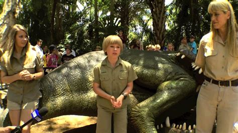 robert irwin celebrates  birthday  feeding
