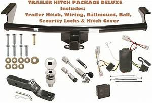 Trailer Tow Hitch Pkg Deluxe Fits 01