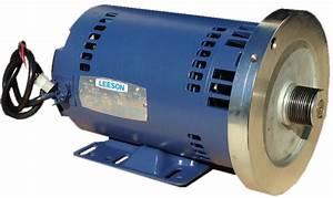 Leeson C6t170b5a Treadmill Motor Repair