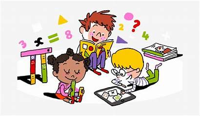 Learning Remote Plan Clipart Math Grade Students