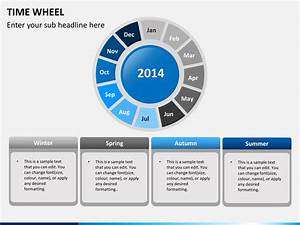 Time Wheel Diagram Powerpoint Template