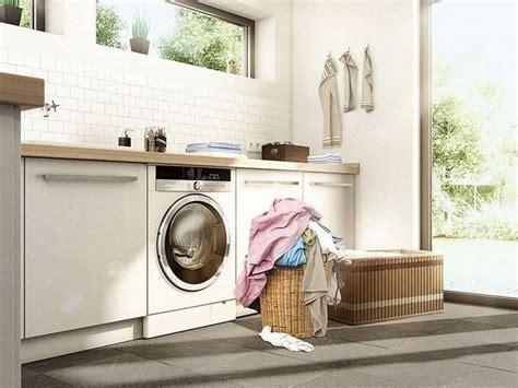 washing machine in kitchen design am 233 nager sa buanderie en fonction de espace de vie 8907