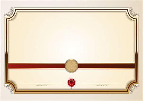 simple  elegant european certificate template