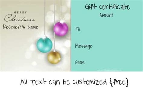 free editable gift certificate template 23 designs