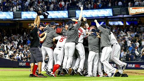 The Red Sox Win '18 ALDS Championship - THE HILL NEWS