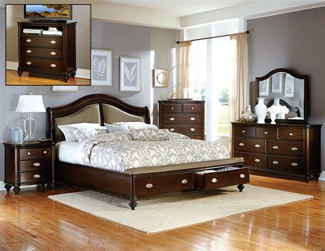 cherry bedroom set homelegance marston bedroom set cherry 2615dc