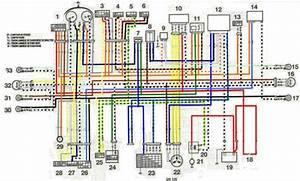 Imagen Diagrama Electrico Suziki Gn 125