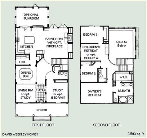David Weekley Homes Celebration Fl Floor Plans by Floorplans Celebration Florida