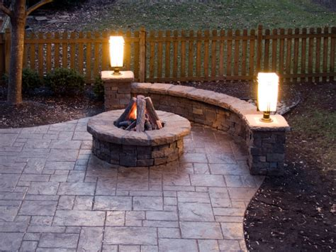patio with pit fire pit patios sted concrete patio with fire pit sted concrete patios and bars with bbq