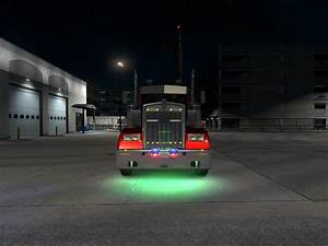 Ats Fog Lights Ats Neon Five Colors Ats Mods American Truck