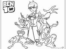 Ben Ten Online Coloring 5