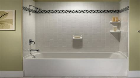 Decorative bathroom tile, tile bathtub surround ideas