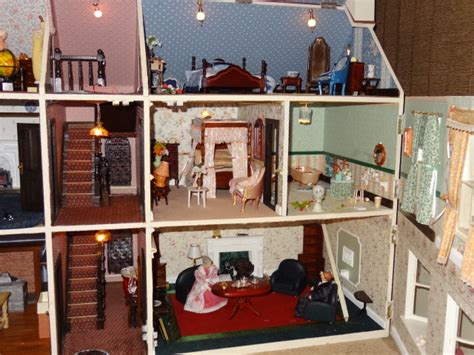 sale large extended victorian dolls house anglesey