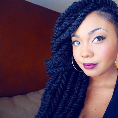 startling jumbo twists  glam  instantly hairstylecamp