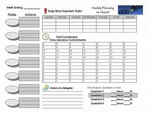 7 habits of highly effective people weekly planner With stephen covey calendar template
