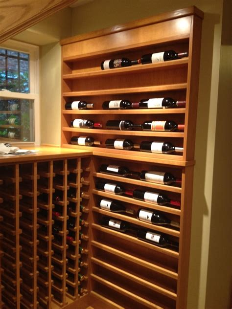 hand crafted custom wine rack  pagoda studios